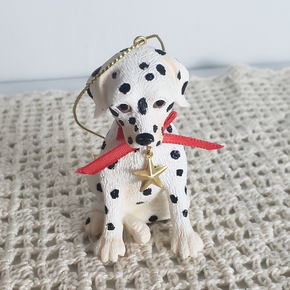 Other - 90s Dalmation Puppy Christmas Ornament